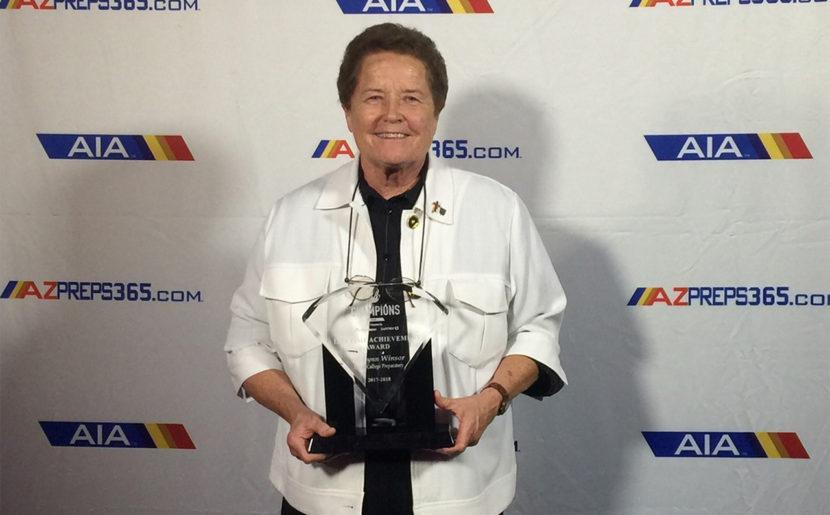 Lynn Winsor, BVM Receives Lifetime Achievement Award