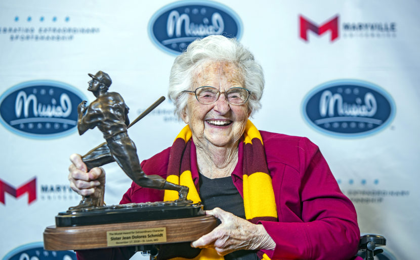 Jean Dolores Schmidt Receives Award For 'extraordinary Character' In St. Louis