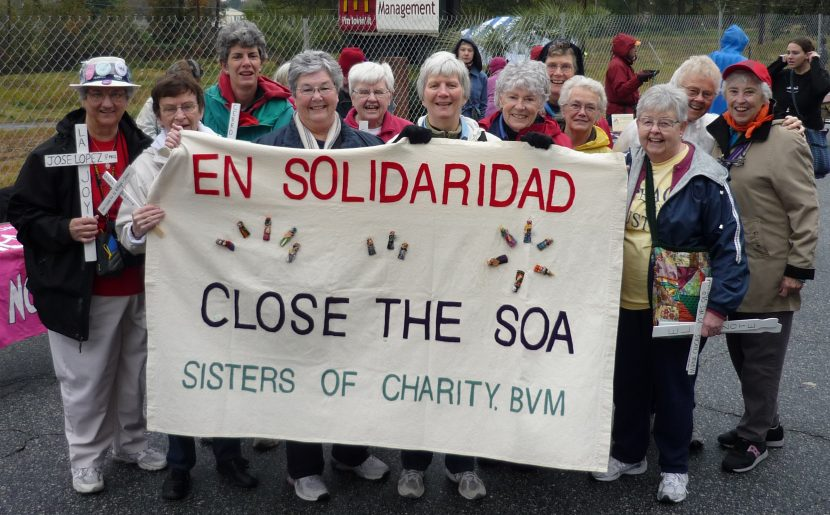BVM Presence At The School Of The Americas Vigils