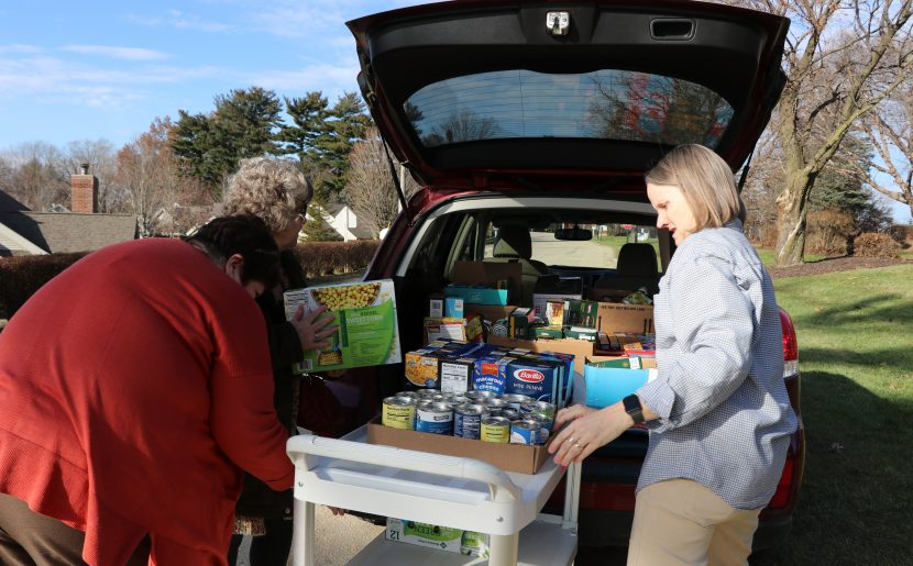 Mount Carmel Food, Cash Donations Timely, Needed