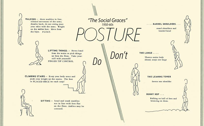 From The Archives: 'A Straight Spine Usually Indicates A Straight Personality'