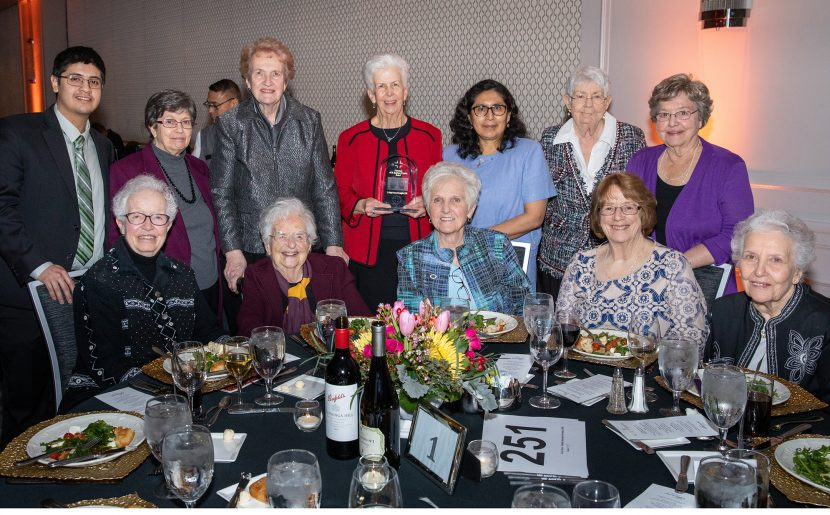 Mary Frances McLaughlin, BVM Honored For Devotion To Christ The King Jesuit College Prep In Chicago
