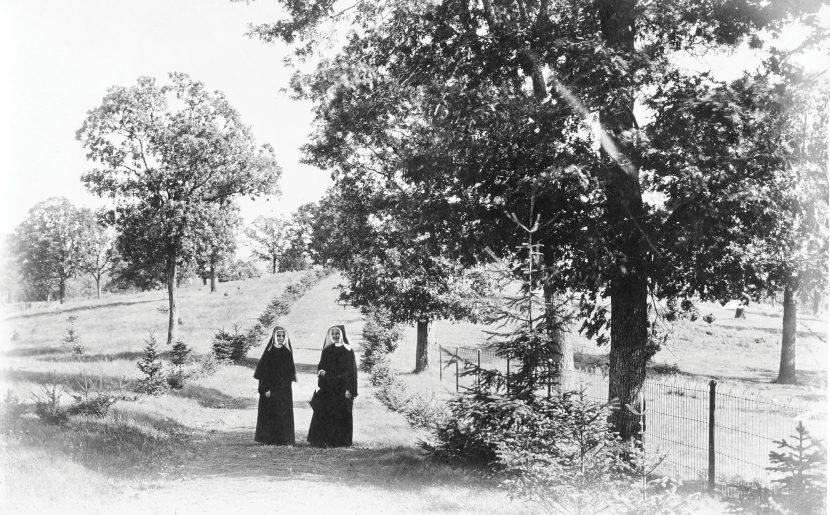 Archival Clip: Loyola Rutherford, BVM Planted Trees At Motherhouse