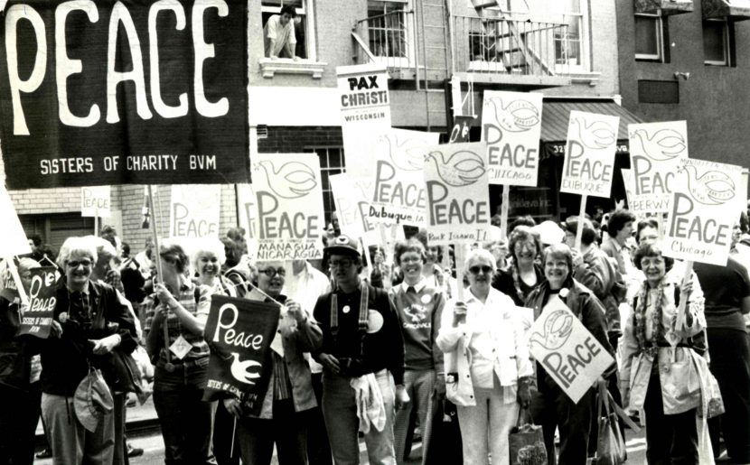 BVMs Marched For Peace, Against Nuclear Arms Race In 1982